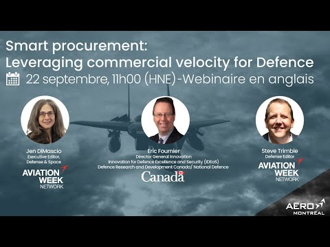 Webinaire (en anglais) : Smart procurement: Leveraging commercial velocity for Defence