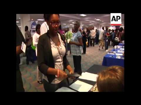 Job Fair Offers Hope To Thousands Who Are Unemployed In South Florida Bringing In About 120 Employe Youtube