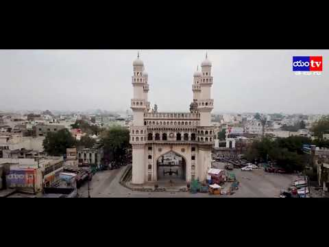AERIAL VIEW OF TELANGANA TAKEN FROM DRONE DURING LOCKDOWN