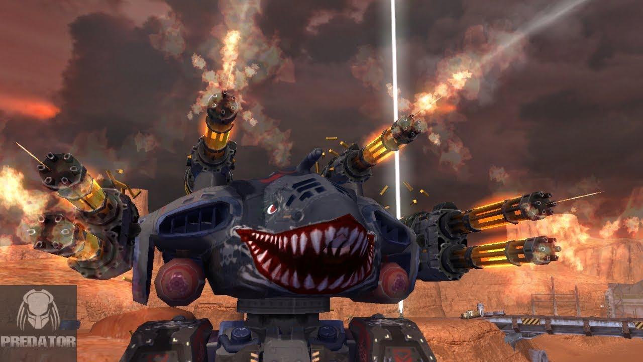 LVL 12 PUNISHER GRIFFIN | 1.2 MILLION DAMAGE | War Robots ...