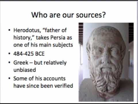 Lecture on Ancient Persia