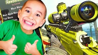 GIVING PLAYERS AIMBOT WITHOUT TELLING THEM! (Black Ops 2 Funny Trolling)