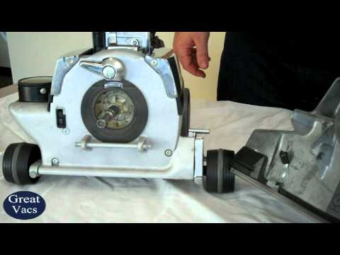 How To Remove Kirby Vacuum Head Tutorial Attach And Detach