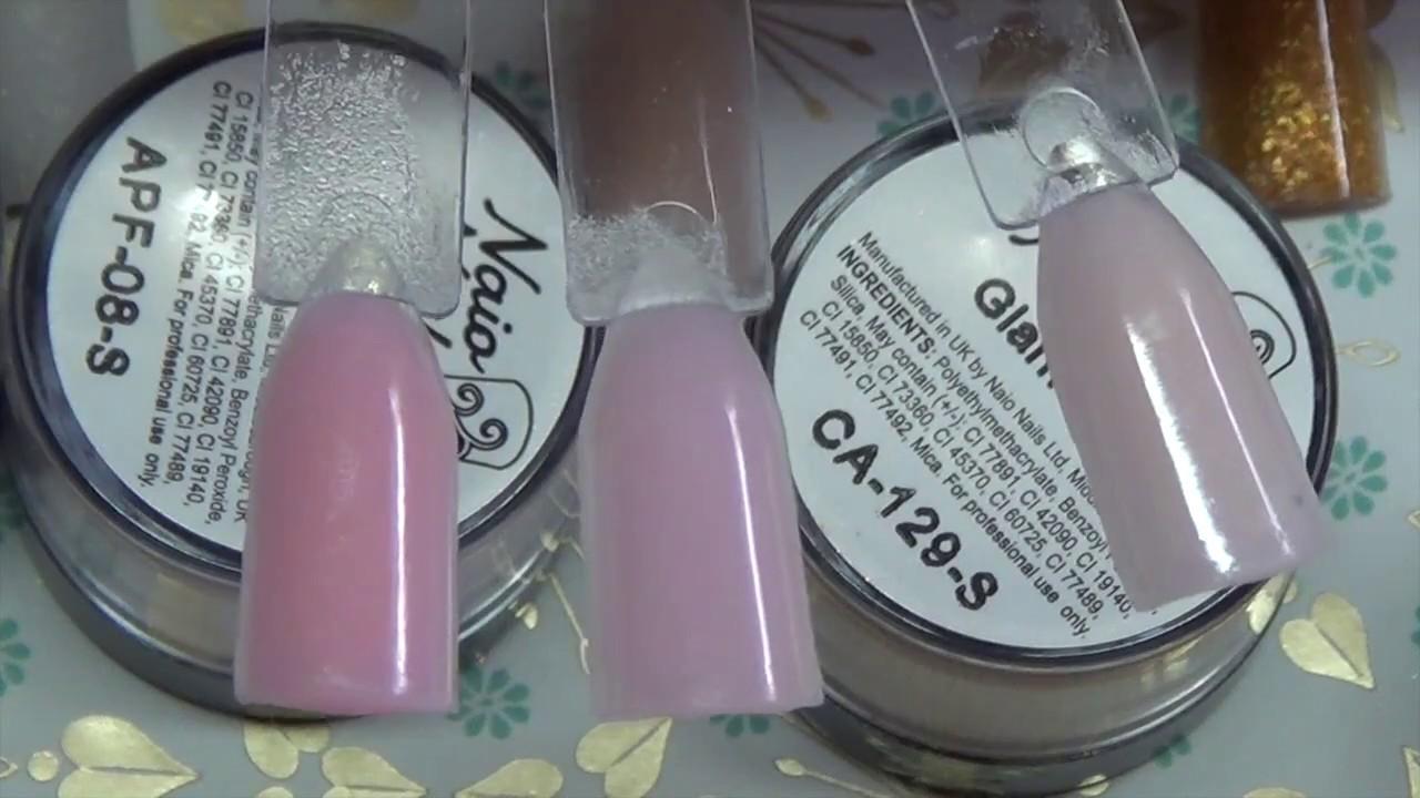 Naio Nails: Swatch & Haul-ish   Acrylic Powder   Nail Art   Monomer ...
