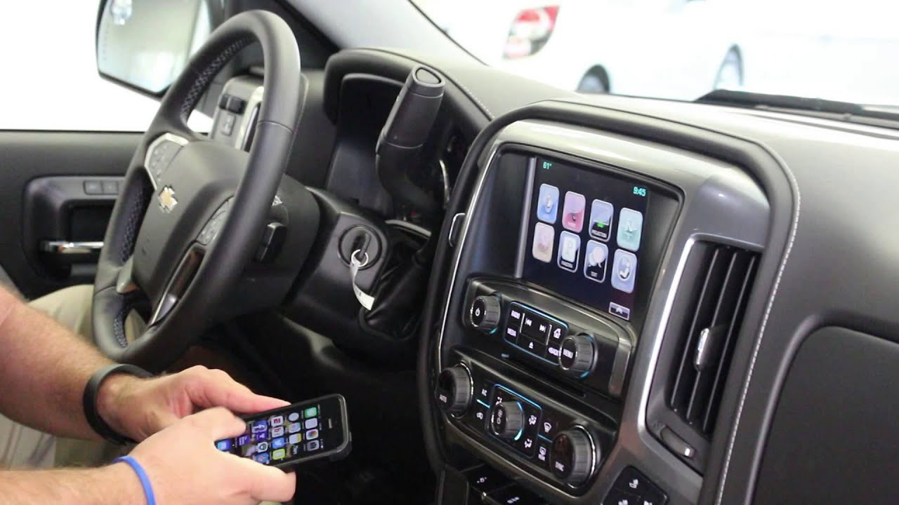 How to Use Chevrolet MyLink with Apple CarPlay and Android Auto