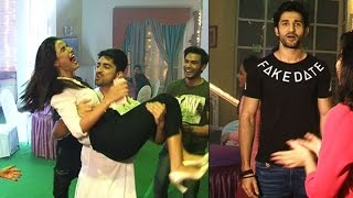 Sidhant Gupta , Zain Imam, Jasmin's crazy FUN and DANCE during Tashan e ishq wrap up party