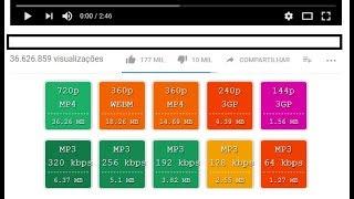 Video Baixar audio ou video do Youtube usando script SimpleYouMp3Buttons no Chrome ou Firefox download MP3, 3GP, MP4, WEBM, AVI, FLV Maret 2018