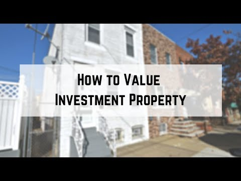 How to Value Investment Property