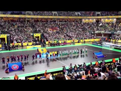 Sporting 3-5 Barcelona UEFA FUTSAL CUP FINALS 24-04-2015 MEO ARENA