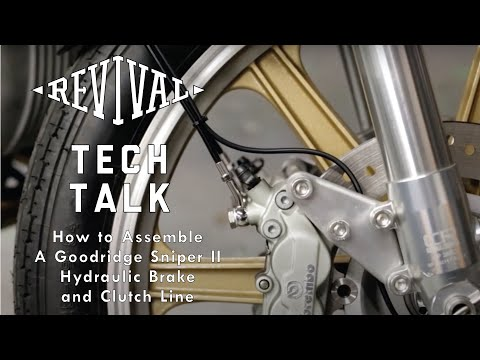 How to Assemble Goodridge Sniper II Hydraulic Brake and Clutch Line //Tech Talk