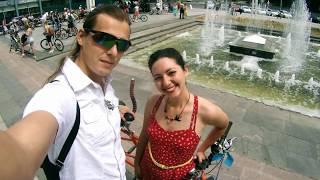 Как мы прокатились на женском велопараде в Харькове