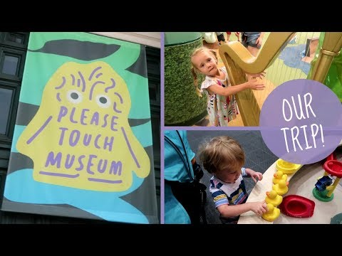 Exploring The Please Touch Museum In Philadelphia!