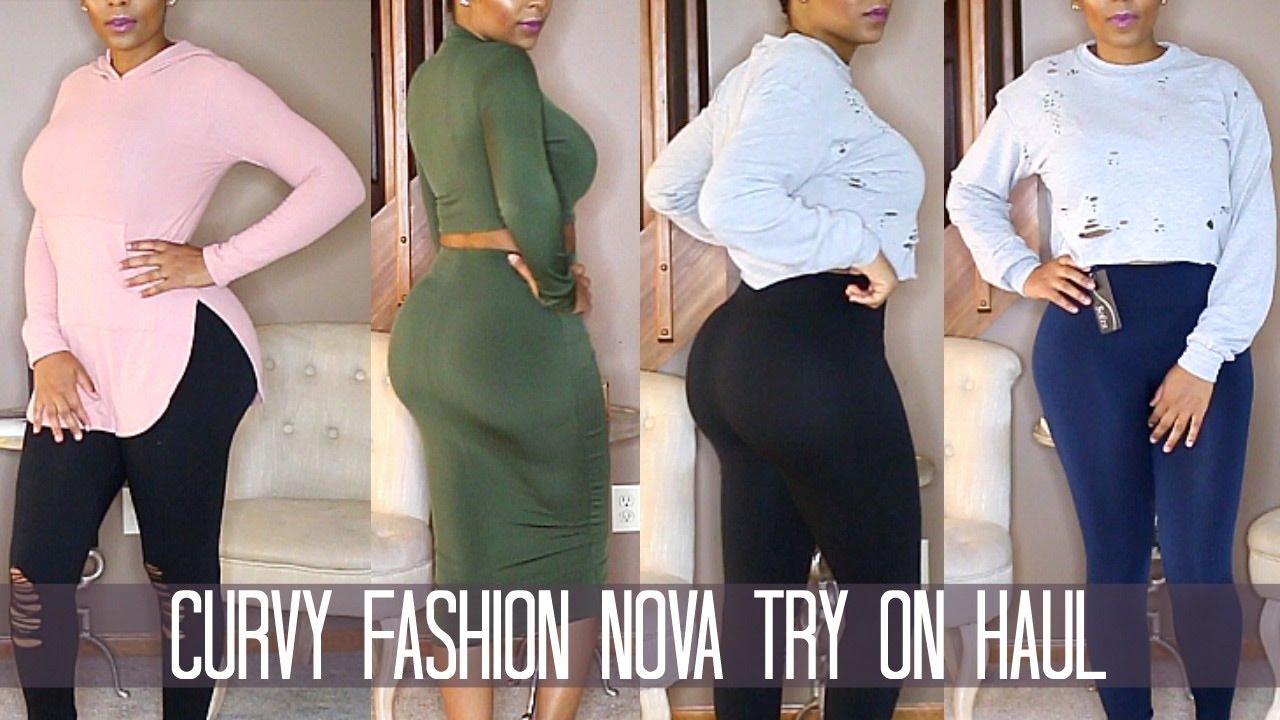 485e9d2e20b7c Curvy Fashion Nova Try On Haul (Leggings