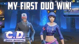 MY FIRST DUO WIN! - Creative Destruction