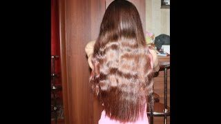 видео Наращивание волос на косичку: расти косе до пояса!
