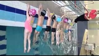 Обучение детей в бассейне Lime . Хабаровск