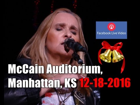 Melissa Etheridge | Merry Christmas baby | Full Concert | McCain Auditorium, KS | 18-18-2016