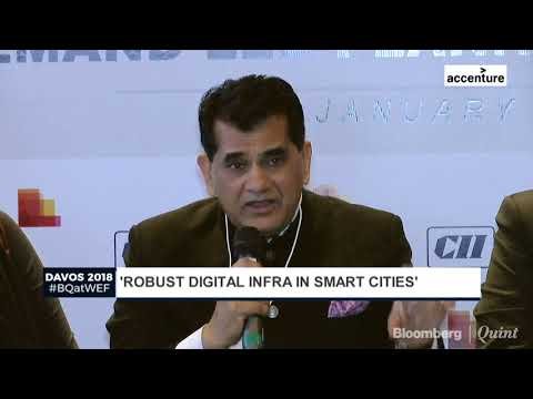 Amitabh Kant At WEF 2018: Smart Cities Will Have Top Notch Infra