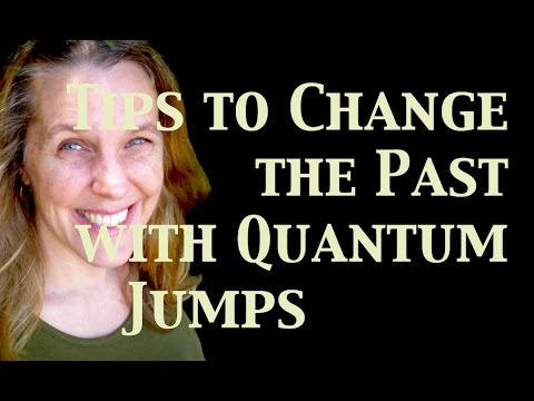 How to Change the Past - Tips with Quantum Jumping
