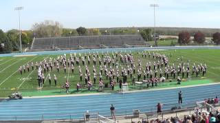 Cedar Falls Tiger Marching Band IHSMA Marching 2015