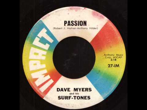Dave Myers & His Surf Tones - Passion on Impact Records