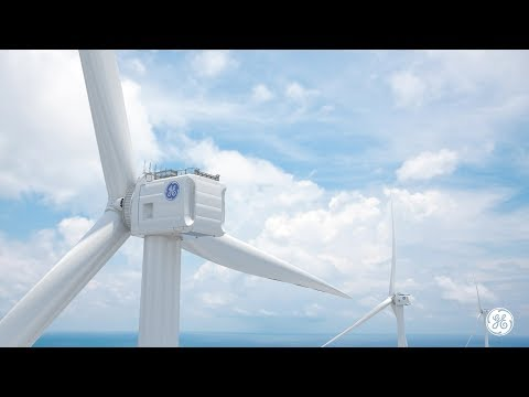 World's Largest Offshore Wind Turbine | Haliade-X | GE Renew