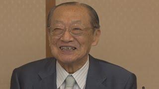 何もかもが幸せ 竹本住大夫さんに文化勲章