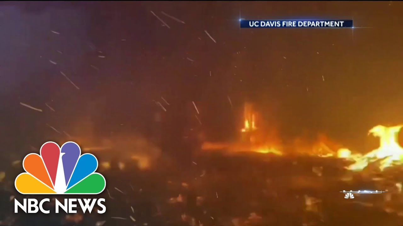 Wildfires Continue Burning Across The West | NBC News