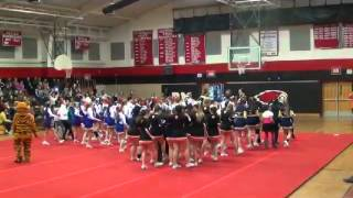 2014 Cecil County Winter High School Cheerleadinng Competition