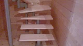 видео Модульная лестница своими руками: особенности монтажа