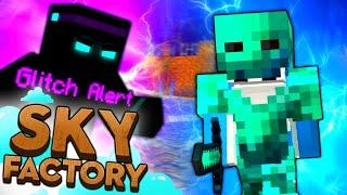 Minecraft Sky Factory - GLITCH ARMOUR #35