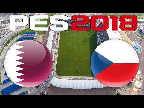 International Friendly - QATAR vs CZECH REPUBLIC - PES 2018