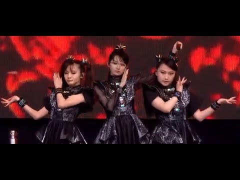 """Baby Metal debuted new song """"Shanti"""" live w/ new 3rd member? off new album Metal Galaxy"""