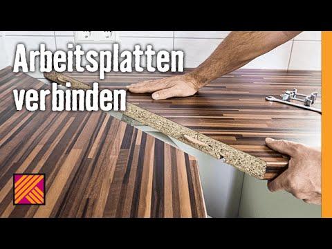 Arbeitsplatten Verbinden  Hornbach Meisterschmiede  Youtube