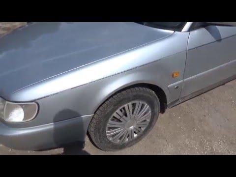 Результат ремонта крыльев Audi A6 C4