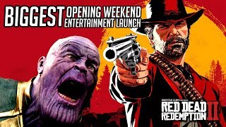 Red Dead Redemption 2 Achieves Entertainment's BIGGEST Opening Weekend of All Time!