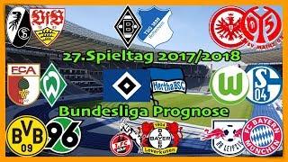 FIFA 18 Bundesliga Prognose 27.Spieltag 2017/2018 Alle Spiele, alle Tore Deutsch (HD)
