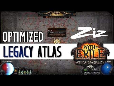 Ziz - 2.6 Optimized Legacy Atlas for Path of Exile