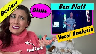 Vocal Coach Reacts Ben Platt - Waving Through A Window | WOW! He was...