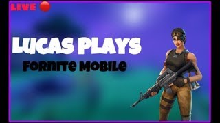 🔴LIVE FORTNITE MOBILE🔴HUGE LOOT LAKE EVENT 🔴✅CUSTOM MATCHMAKING