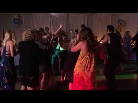 Lindsey and Ryan LaGrange Barn Wedding Ben Ricci DJs