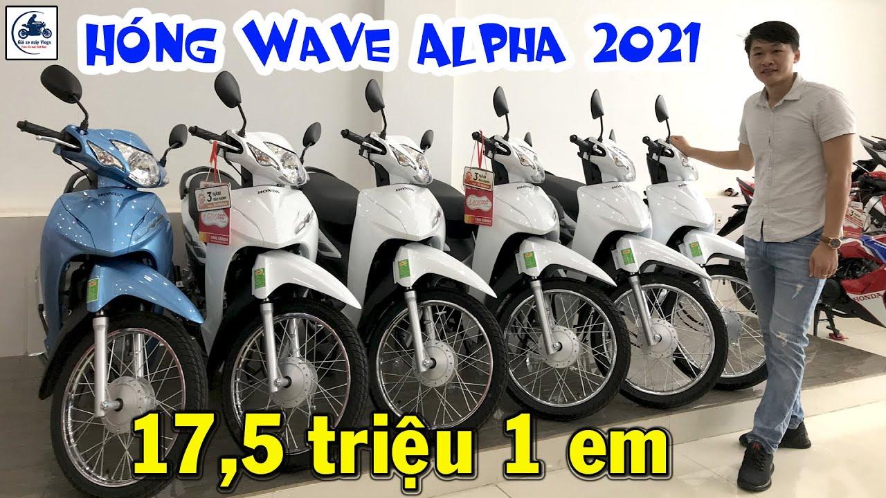 17,5 triệu 1 em Wave Alpha – QUÁ RẺ ▶️ Hóng Wave Alpha 2021 có gì mới? 🔴 GIÁ XE MÁY VLOGS