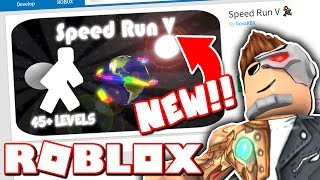 THE NEWEST SPEED RUN IN ROBLOX!!