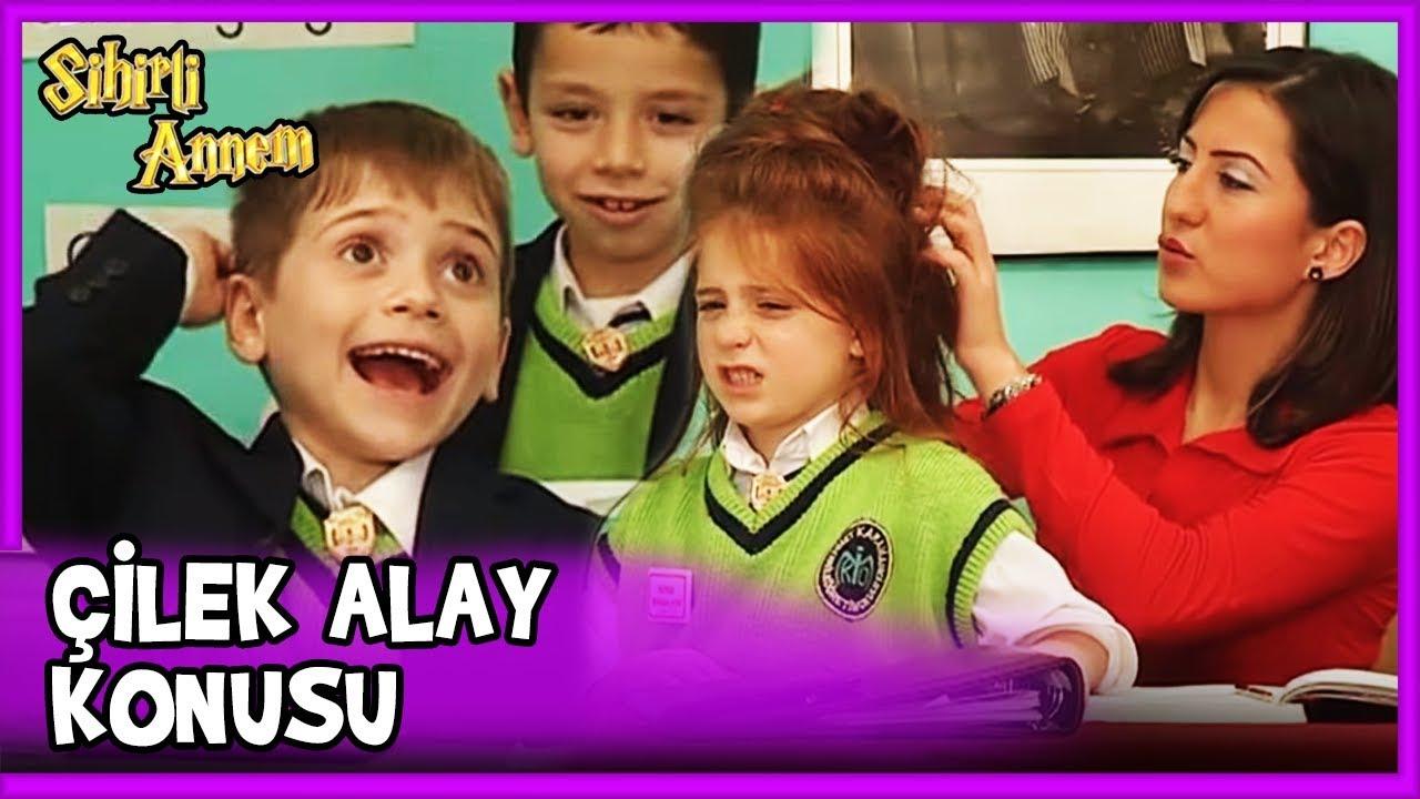 Bütün Sınıf Çilek'in Saçlarıyla Alay Ediyor - Sihirli Annem 79. Bölüm