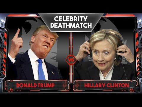 WWE 2K16 Celebrity Deathmatch Tournament :: Donald Trump Vs Hillary Clinton