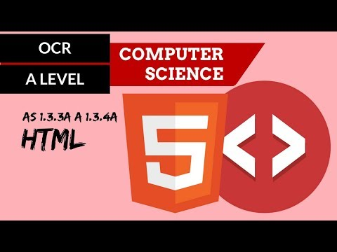OCR A'Level HTML