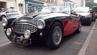 Austin Healey 3000 Start Up, Sound, Acceleration