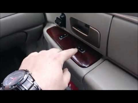 How to Replace Window Switch Lincoln Towncar