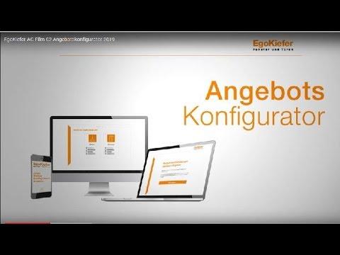 EgoKiefer AG Film 02 Angebotskonfigurator 2019