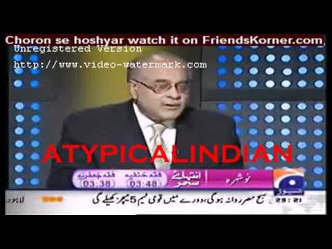 Pakistan lost ALL 4 wars against India : Mr. Najam Sethi